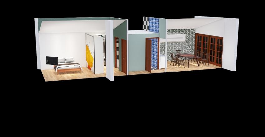 14 - master Berget 3 Shed Ceiling Interior Design Render