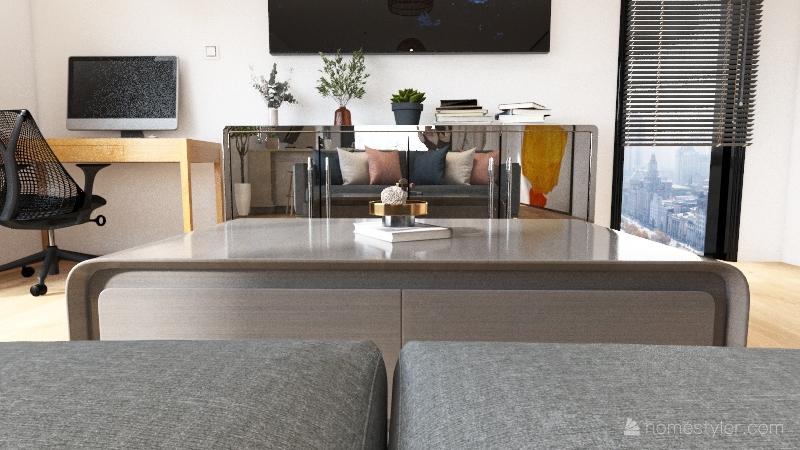 Open Floor Plan Interior Design Render
