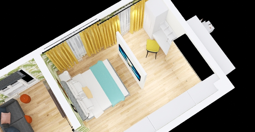 3  озо по обмерам 2 Interior Design Render