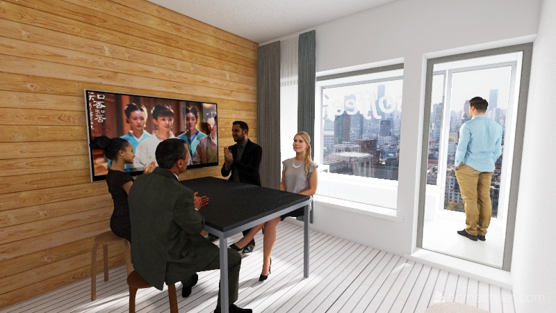 Studio v1 Interior Design Render