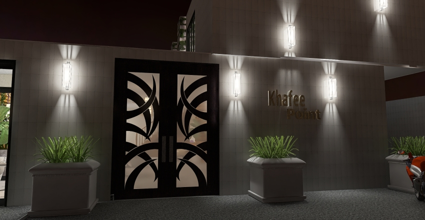 Khafee Point Interior Design Render