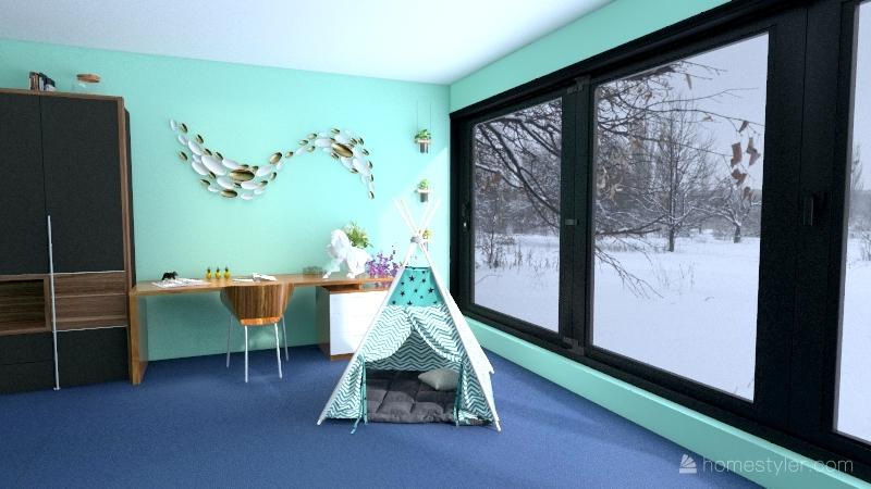 Little, Big Nature Interior Design Render