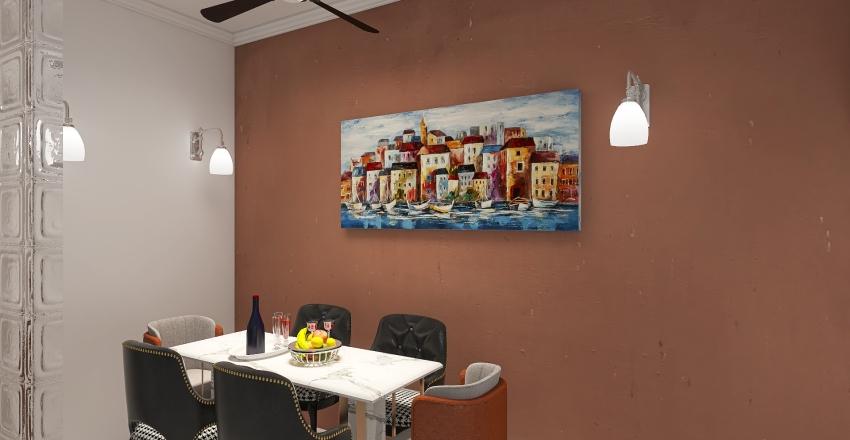 Small home  Interior Design Render