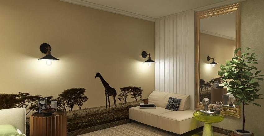 1.. Interior Design Render