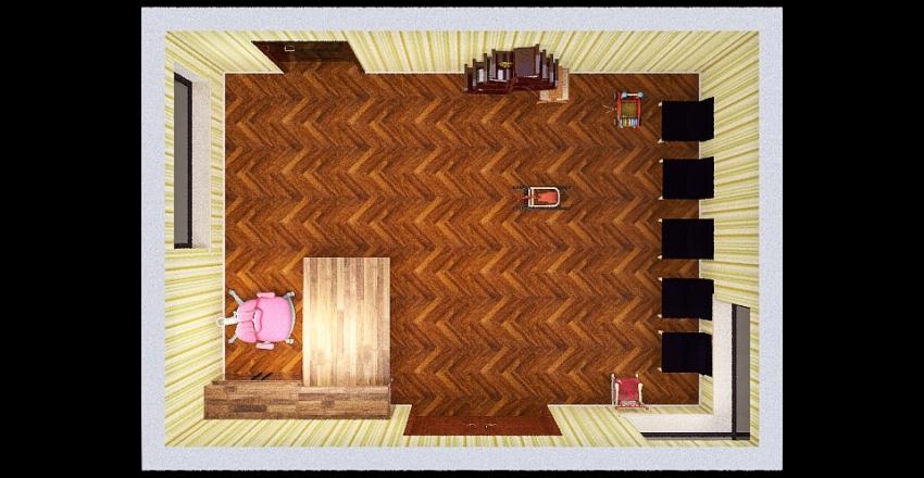 Copy of sala de espera Interior Design Render