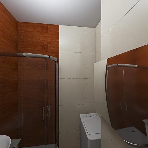 Lazienka-DOM Sierpien21 Interior Design Render