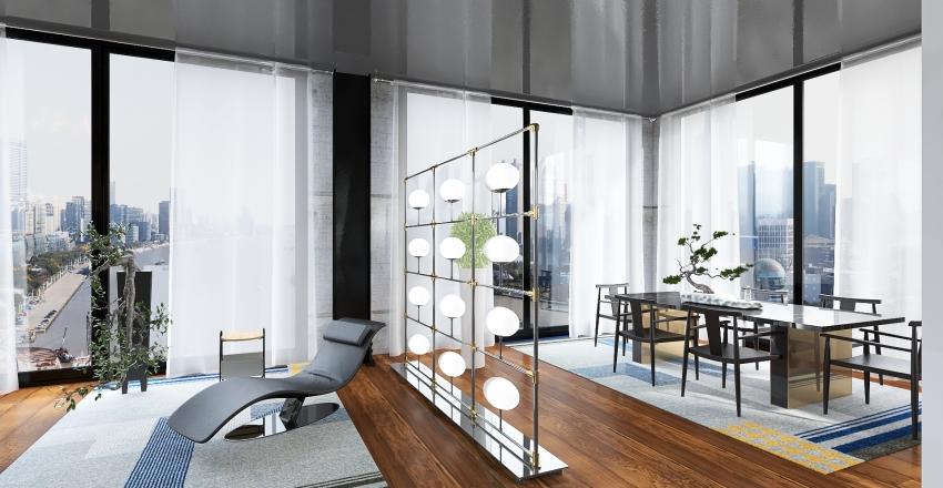 Highrise apt. Interior Design Render