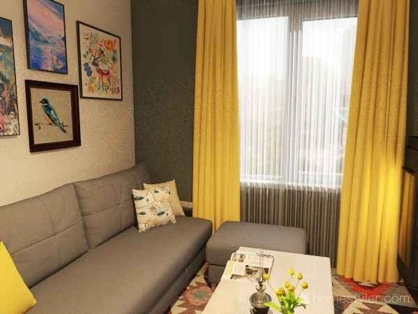 2021_02 Interior Design Render
