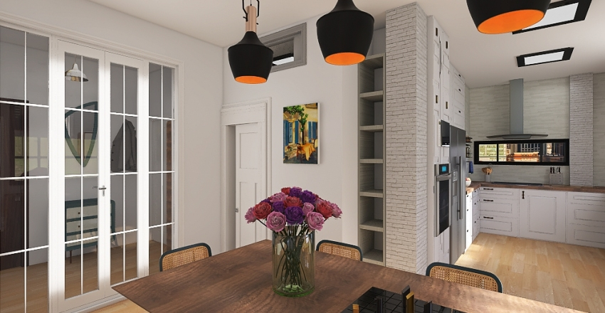 techos modificados Teucro completa Interior Design Render