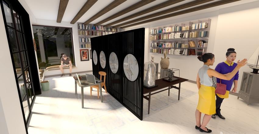 Cevat Şakir Müzesi Interior Design Render