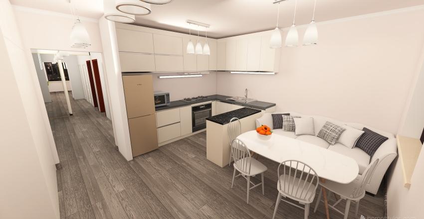 Goloski kruchi Interior Design Render