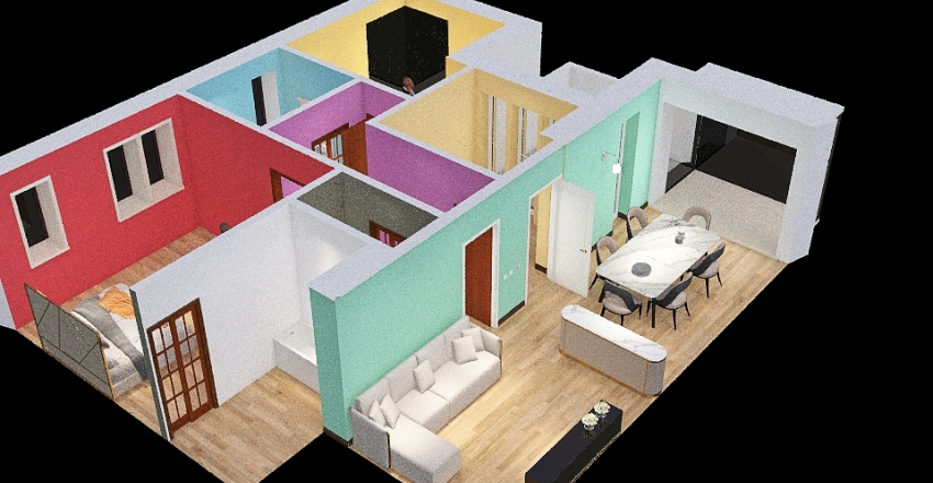Seimilano 25/02/2021 Interior Design Render
