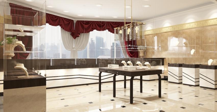 Jewelry shop Interior Design Render