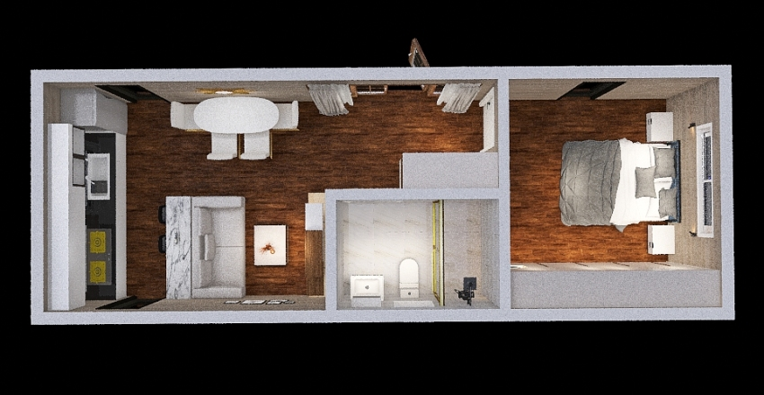 ADU 6 Interior Design Render