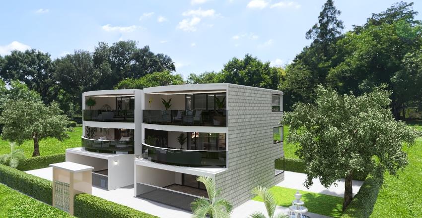 casa 3 livelli Interior Design Render