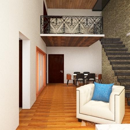 Bahria Open Kitchen 2 Interior Design Render
