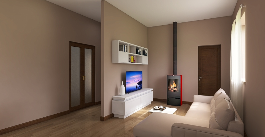 19_APPARTAMENTO Interior Design Render