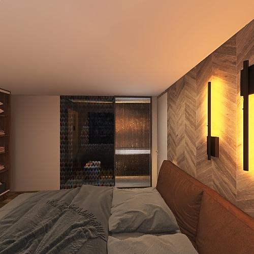 Homecity 10-2, одна лестница Interior Design Render