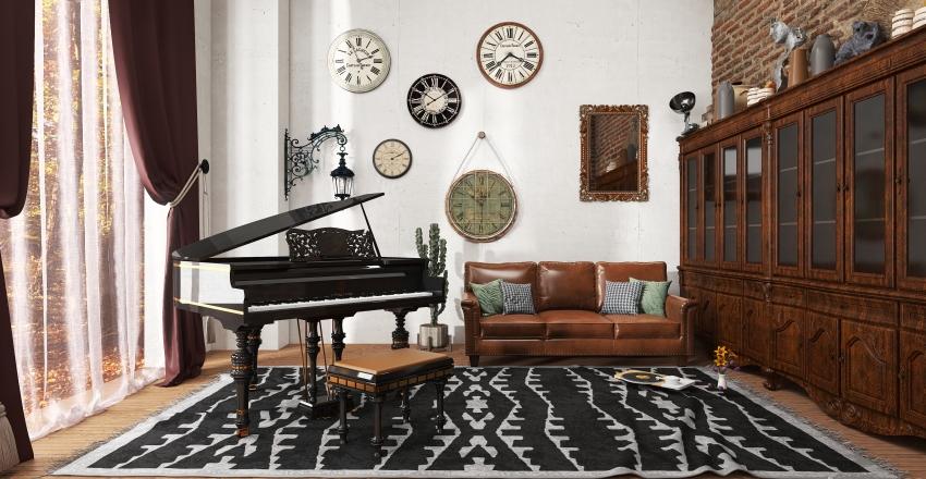 Retro Dreams Model Collection Interior Design Render