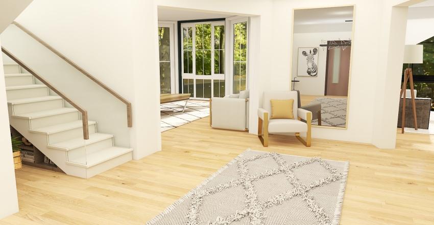 house in england Interior Design Render