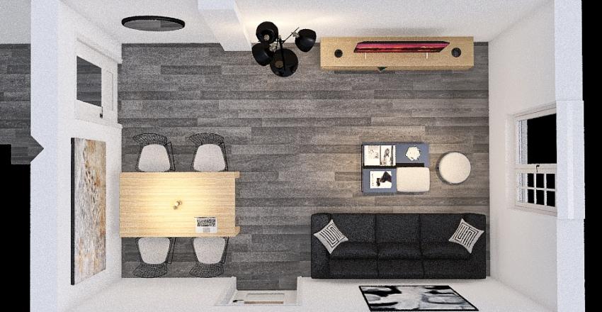 Reforma salón. Interior Design Render