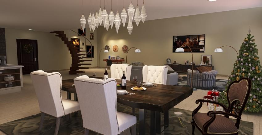 Two-story design Interior Design Render