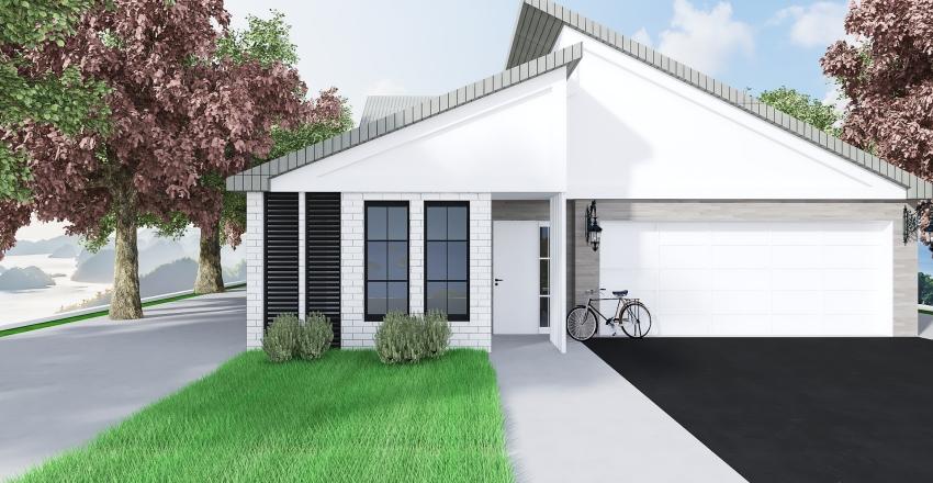 MODERN RETRO Interior Design Render