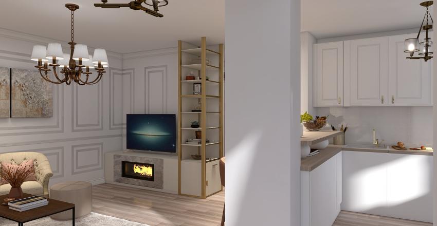 Apartament Ciucescu Interior Design Render