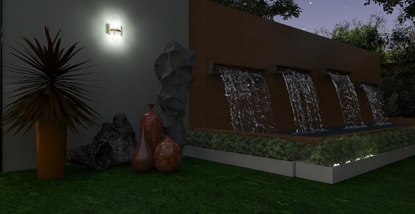 Luxury & natural etnic Interior Design Render
