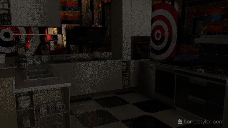 Project-strange Interior Design Render