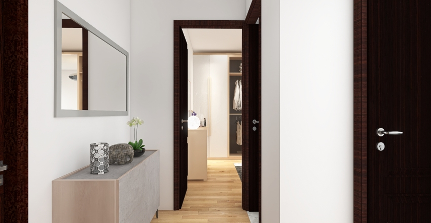Abbiategrasso_Via Cocini N16 Interior Design Render