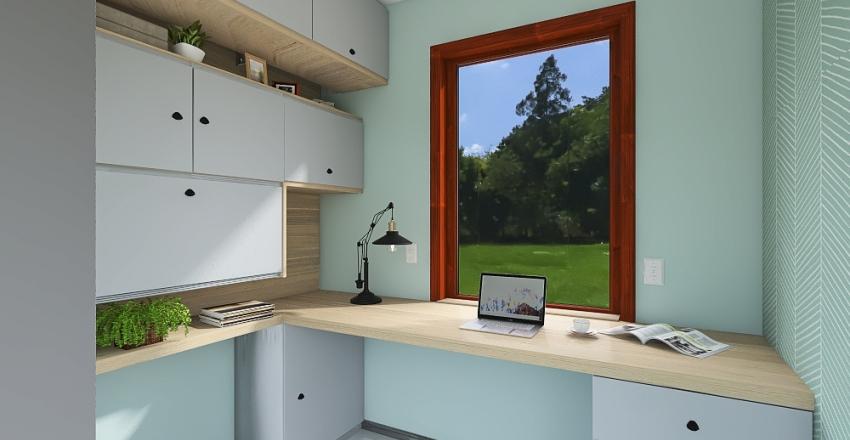 gabinet czmon Interior Design Render