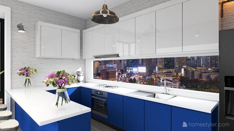 Cocina Nautica Interior Design Render