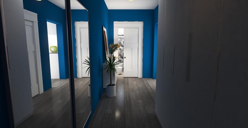 frozen hause Interior Design Render