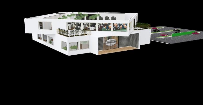 CIBSE OFFICE Interior Design Render