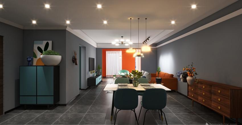 JORGE JUAN Interior Design Render