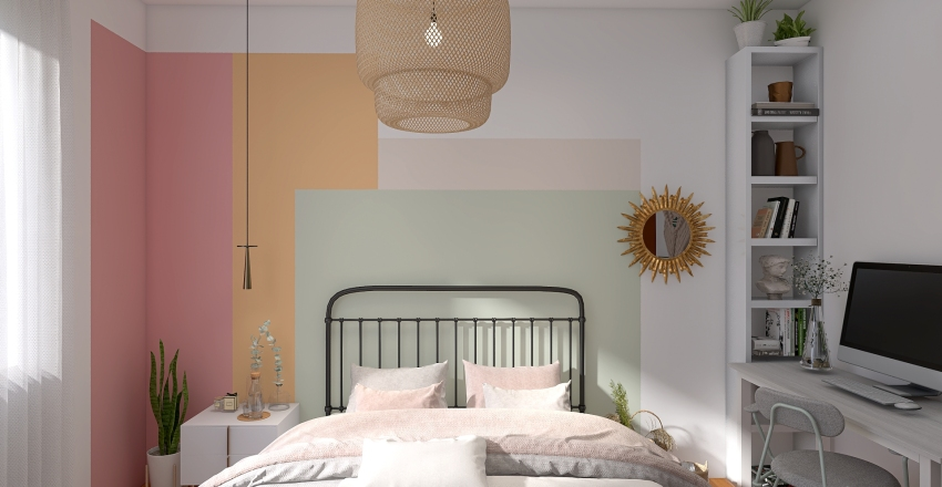 Alice Quarto Interior Design Render