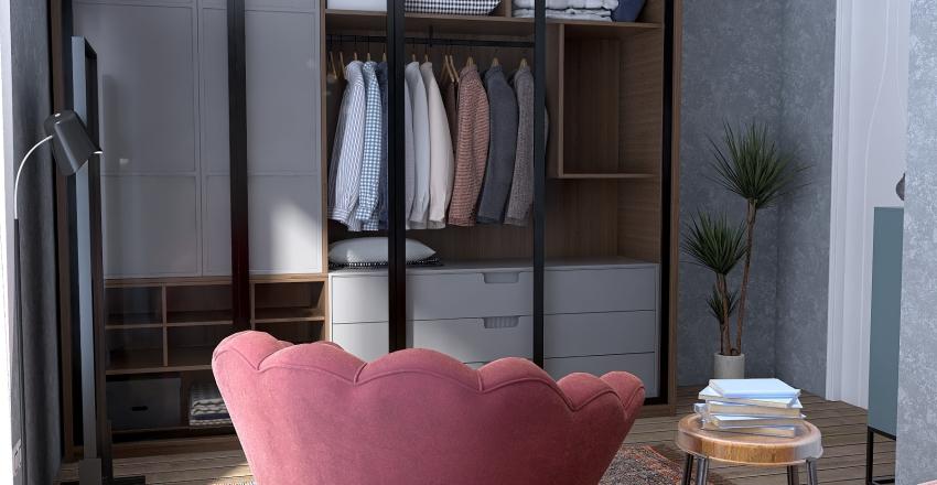 2 floor Interior Design Render
