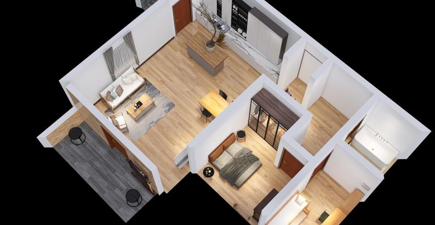 Copy of Wizualizacja nr 2 Interior Design Render