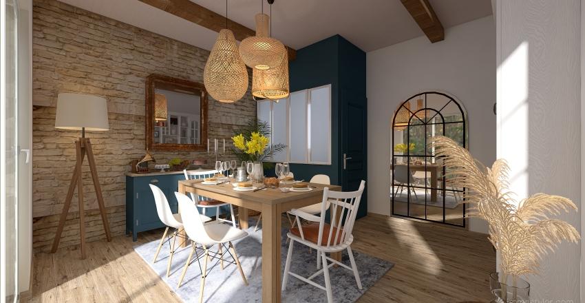 CAMPAGNE CHIC Interior Design Render