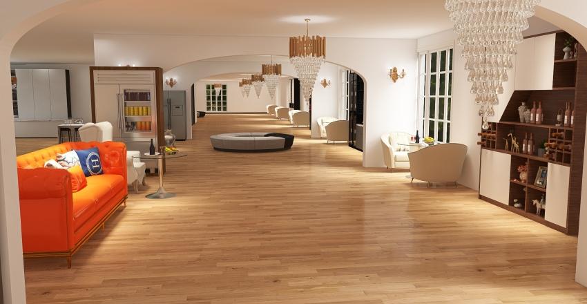 water forest  Interior Design Render