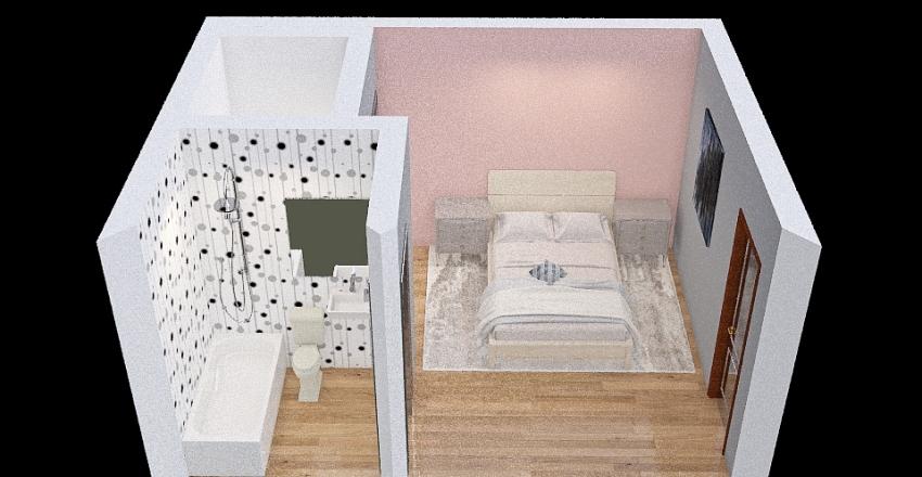 Bedroom A Interior Design Render