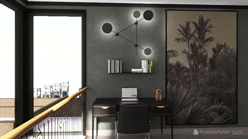 ULTRA MODERN VİLLA Interior Design Render