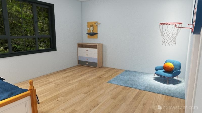 LoveGray House Interior Design Render