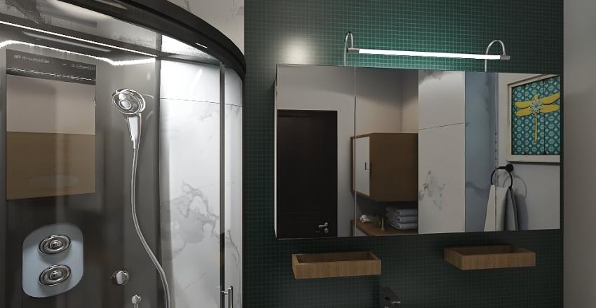 AWT-60m2-v1 Interior Design Render