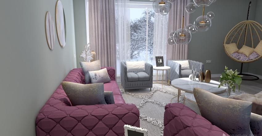 livingroom number 2 Interior Design Render