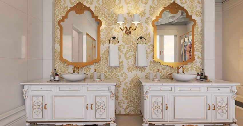 037| royal suite - princess Interior Design Render