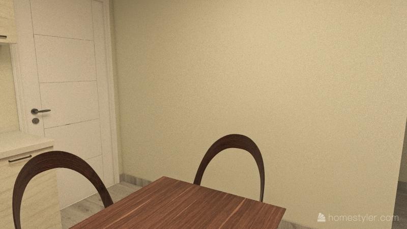 Appartamento da ristrutturare Interior Design Render