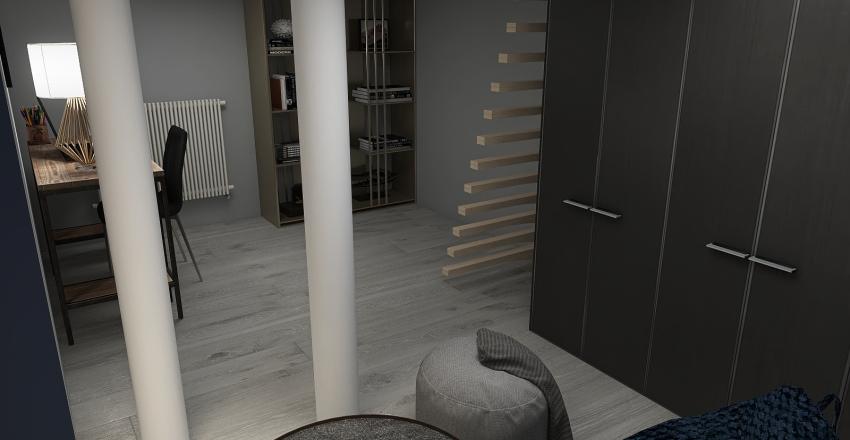 Copy of Industrial Cellar Interior Design Render