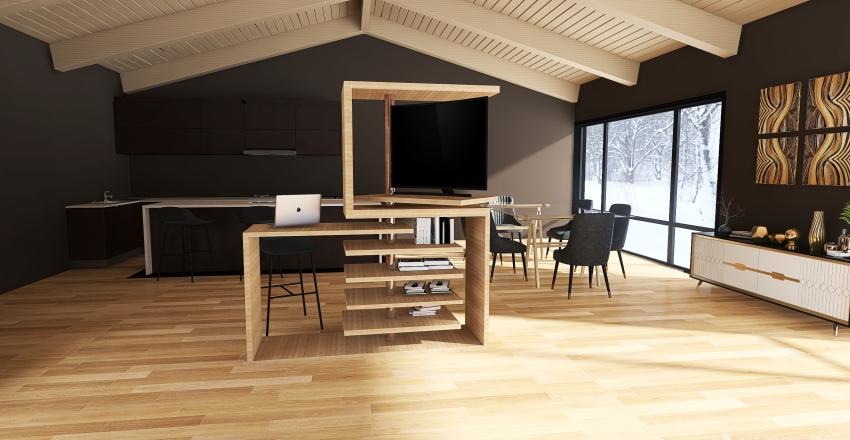 Living room Rossigno DESIGN Interior Design Render